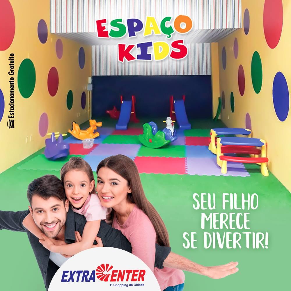 Alegria das crianças é sinônimo de Espaço Kids. Traga seu filho e aproveite os momentos em família!